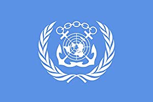 magFlags XS Flag International Maritime Organization | landscape flag | 0.375m² | 4sqft | 50x75cm | 1.5x2.5ft - 100% Made in Germany - long lasting outdoor flag