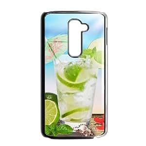 Fresh green lemon nature style fashion phone case for LG G2
