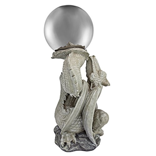 Design Toscano Sir Sagremor's Dragon Sculpture with Glass Gazing Orb by Design Toscano (Image #1)