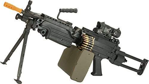 Saw M249 (Evike G&P M249 SAW Airsoft AEG Rifle with Collapsible Stock (Package: Para Version/Gun Only))