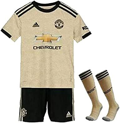 A/&H Fashion Kids Boys Manchester United Third Kit 2019 2020 Domestic New UK