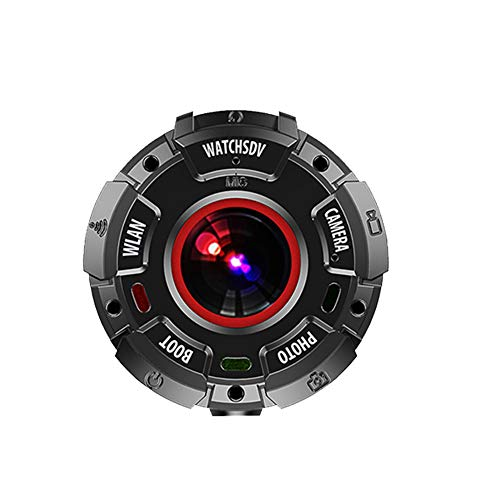 OnReal F4 1080P Action Camera Body Waterproof Cam Resolution Compatible with iOS and Android Phone APP Black