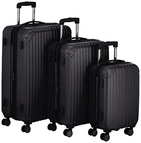 Hauptstadtkoffer Set di valigie, nero (Nero) - 82861024