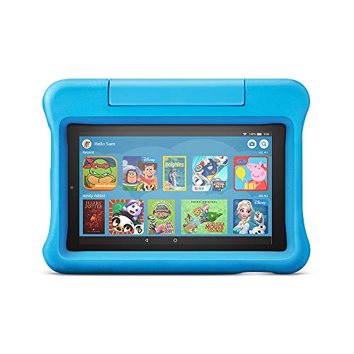 Fire 7 Kids Edition Tablet | 7″ Display, 16 GB, Blue Kid-Proof Case
