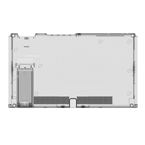BASSTOP Translucent Back Plate DIY Replacement Housing Shell Case for NS NX Switch Console Without Electronics (Console-Smoke Black)