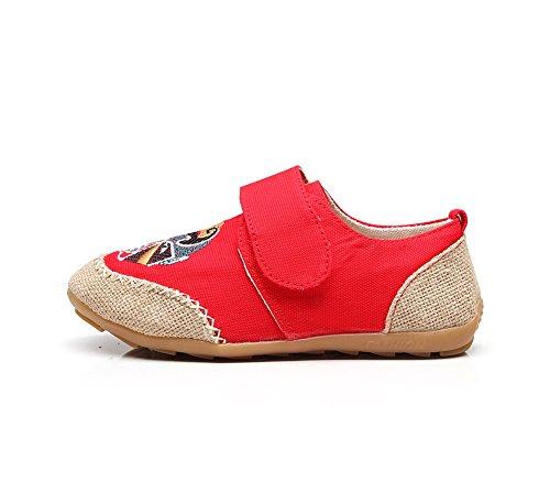Shallow La À Nouveau Bouche Printemps Chaussures Arrondi Exing A Parent Main Femmes Été Bout enfant nqR0CRpwB