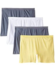 Fruit of the Loom Women's Plus-Size 4pk Cotton Brief-Fit for Me