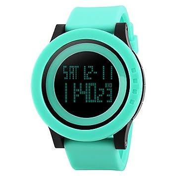 XKC-watches Relojes para Hombres, Hombre Mujer Reloj Digital Reloj Creativo único Reloj de