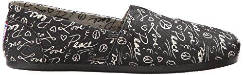 Bobs Aus Skechers Kühlung Luxus Schuh Black Words