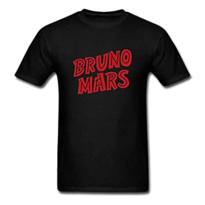 Adult's Popular Fashion Bruno Mars Logo T shirts