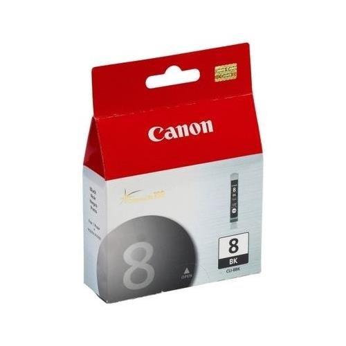 (Canon 0620B002 OEM Ink - CLI-8BK iP4200 iP4300 iP4500 iP5200 iP5200R iP6600D iP6700D MP 500 530 600 610 800 800R 810 830 850 950 960 970 PIXMA Pro9000 Pro9000 Mark II Black Ink Tank)