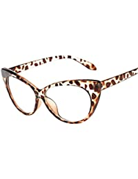 2ecec73400 Women Summer Aviator Retro Cat Eye Glasses Unisex Sunglasses Metal Frame