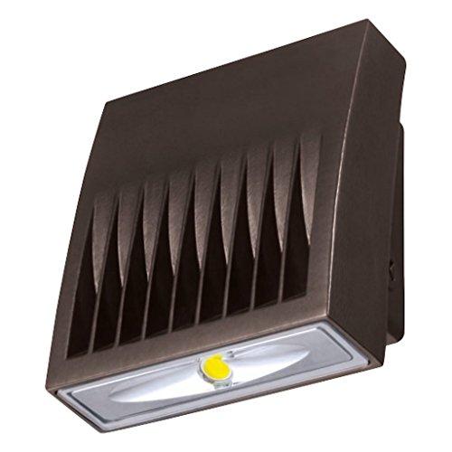Lumark 22050-20 watt 120/277 volt 5000K Carbon Bronze LED Wallpack or Floodlight (XTOR2A 20W 5000K 120/277V Lumark Crosstour LED Wall Pack)
