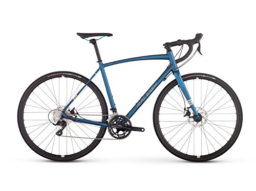 Raleigh Bikes Willard 1 All Road Bike, Blue, 54 cm/Small