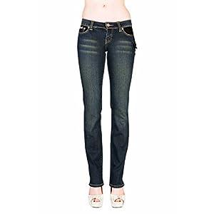 VIRGIN ONLY Women's Slim Fit Straight Leg