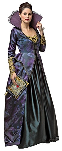 Rasta Imposta Women's Once Upon A Time Evil Queen, Purple/Black, Large (The Evil Queen Costume)