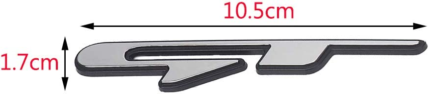 Cikuso Cool Adesivo Stile Auto 3D Adesivo Lettere Linea GT per Rear Trunk Parafango Auto Porta Adesivi GT Line