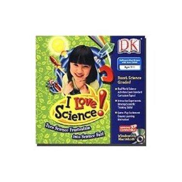 """DK """"I Love Science!"""""""