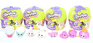 Shopkins Halloween 2017 Collection Set of 8 (Including 3 Glows in the dark)