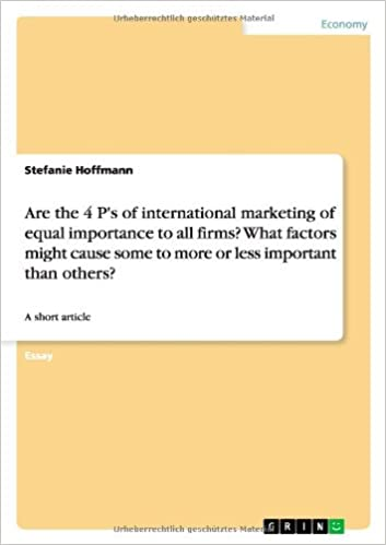 what are the importance of international marketing