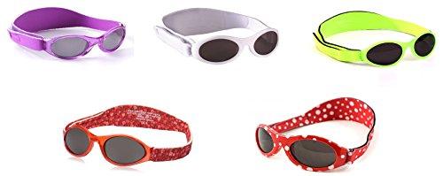 Adventure Baby BanZ Purple Crush | 100% UVA/UVB Protection | Age: 0-2 - First Sunglasses