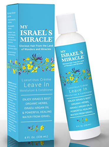 Herbal Leave In Conditioner - My Israel's Miracle - Luxurious Cream Leave In Moisturizer and Conditioner - Powerful Organic Haircare Herbs from Israel