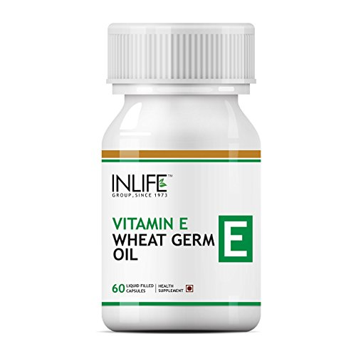 - Inlife Vitamin E Oil with Wheat Germ Oil Essential Supplement 400 Iu - 60 Liquid Filled Capsules (Pack of 1)