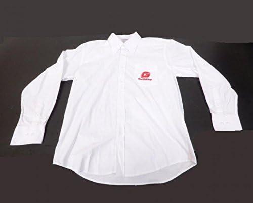 Camisa blanca de moto tipo Gas Gas 60% algodón y 40% poliéster, talla XL): Amazon.es: Deportes y aire libre