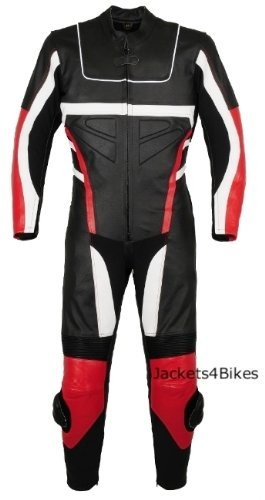 1PC NEW MOTORCYCLE LEATHER RACING SUIT ARMOR Red NEW 48