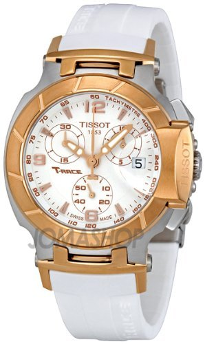 Tissot T-Race White Dial Women's Watch #T048.217.27.017.00 by Tissot