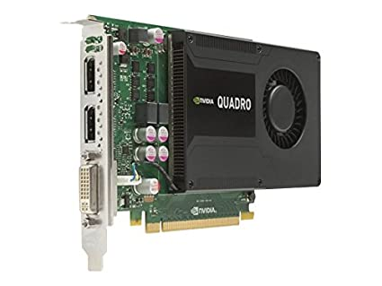 HP NVIDIA Quadro K2000 2GB - Tarjeta gráfica con Quadro K2000 (3840 x 2160 Pixeles, nVIDIA, 2 GB, GDDR5-SDRAM, 128 Bit)