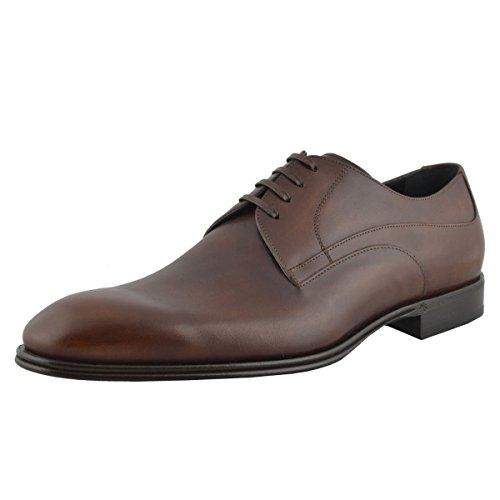 Dolce & Gabbana Hombres Zapatos De Cuero Marrón Oxfords Marrón