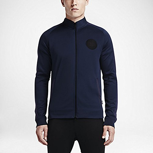 (Nike Mens Nike F.C. N98 Track Jacket (Midnight Navy) X-Large)