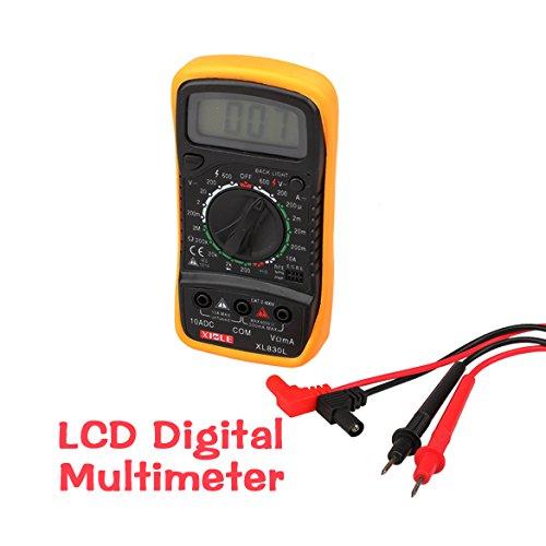 Asiproper LCD Digital MULTITESTER Multimeter AC DC Ohm VOLT Meter: