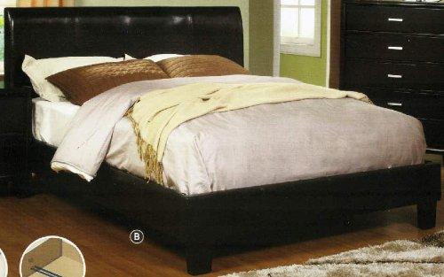247SHOPATHOME IDF-7007F Platform-Beds, Full, Espresso by 247SHOPATHOME