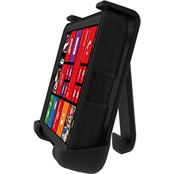 Otterbox Nokia Lumia Icon Defender Series Case - Retail Packaging - Black (Discontinued by Manufacturer)