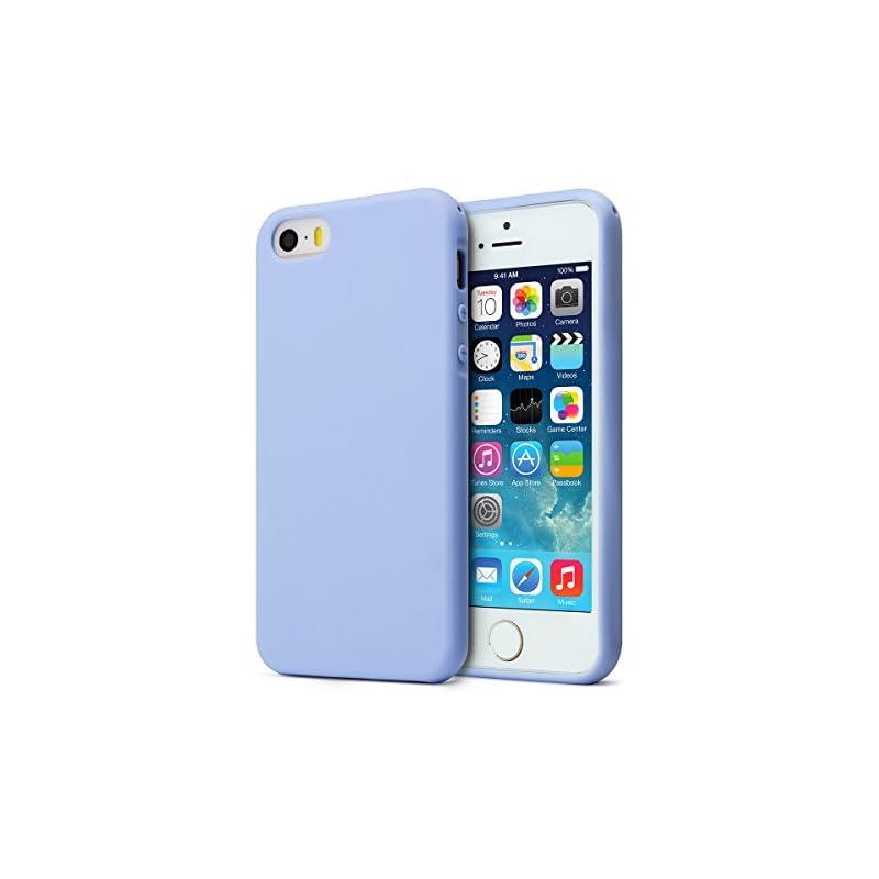 MUNDULEA Matte Case Compatible iPhone 5s
