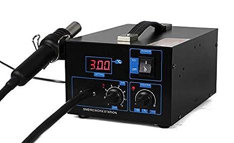 Tipo de bomba de aire GOWE Digital de aire caliente estación de retrabajo 2 en 1 pistola de aire caliente estación de soldadura: Amazon.es: Bricolaje y ...