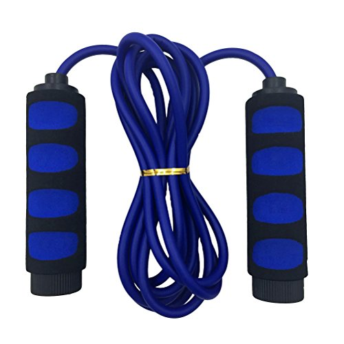 Aoneky Lightweight Jump Rope for Kids with Comfort Handle (Blue)