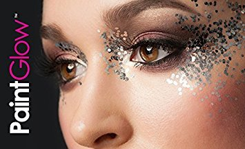 E Per Scintillio Viso Cosmetica Nera Cuore Grosso Corpo Paintglow Maga Interruttore rosa Capelli 3g Ix0TCqfxw