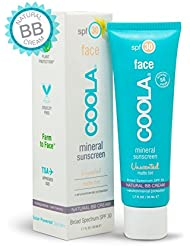 COOLA Mineral Suncare Unscented Matte Tint Face Sunscreen, SPF 30, 1.7 Fl Oz