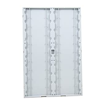 "Dyn-A-Med 62680 Plastic 20-Place Slide-Vu Pop Up Slide Folder, 12"" x 8"" x 8"" Size (Case of 12)"