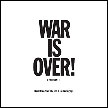 happy xmas war is over