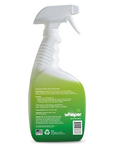 Whisper Pet Non Toxic Odor Eliminator 28 Ounce Spray