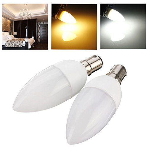 Gold Hill Flush Fixture (Lights & Lighting - B15 3w 10 Smd 2835 Ac 220-240v White/Warm White Led Candle Light Bulb - Led Candle Light Bulbs 60w 5000k Daylight Dimmable Non Bulb - Chandelier Warm White - 1PCs)
