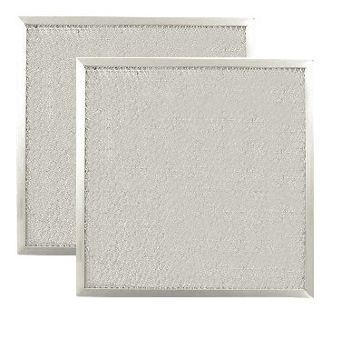2 PACK 11 X 11 X 3/8 Range Hood Aluminum Grease Filters