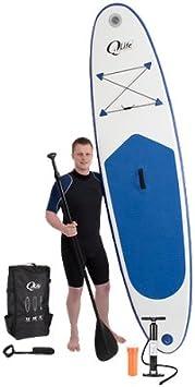 Pompe Double Action Sac de Transport SIMPLE PADDLE Stand up Paddle Gonflable Leash Pack Complet livr/é avec Pagaie
