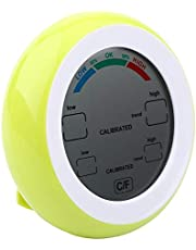 Milieuvriendelijke elektronische vochtmeter Digitale hygrometer Hygrometer Office for Home(yellow)