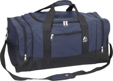 Everest Sporty Gear Bag, Navy/Black