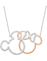 Jewelry for Women and Girls, Sterling Silver Two Tone...